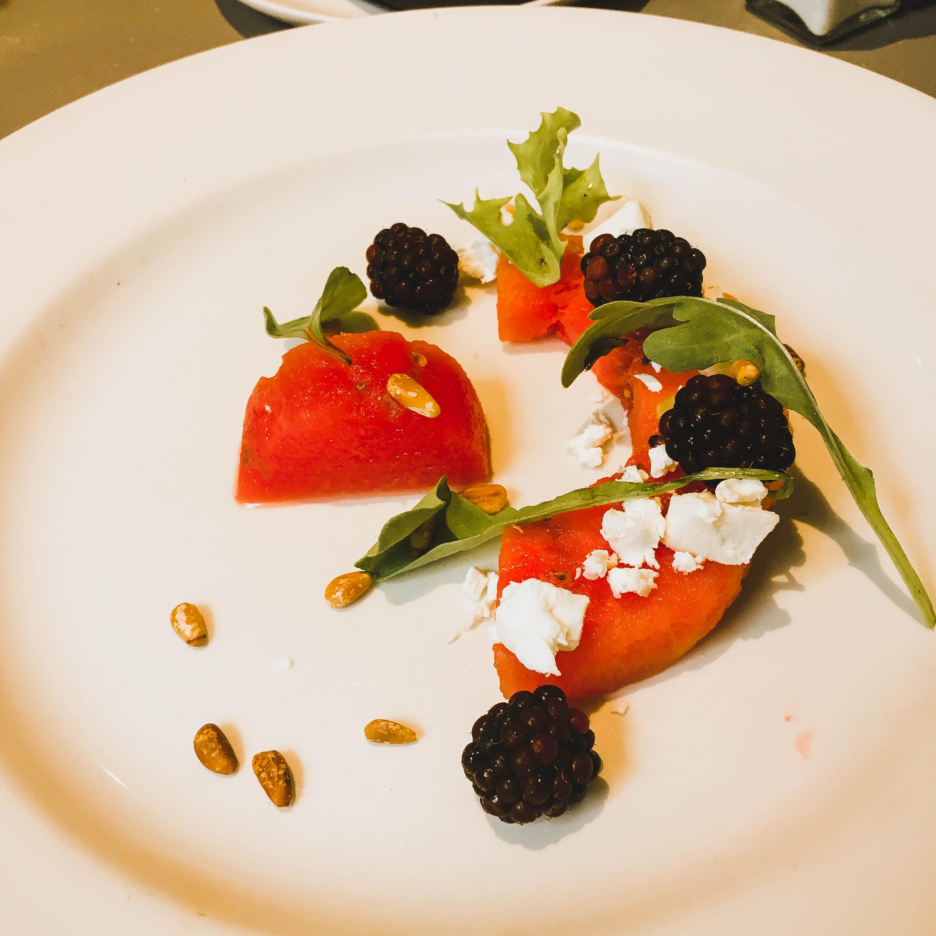 pulcinella cleveleys watermelon salad