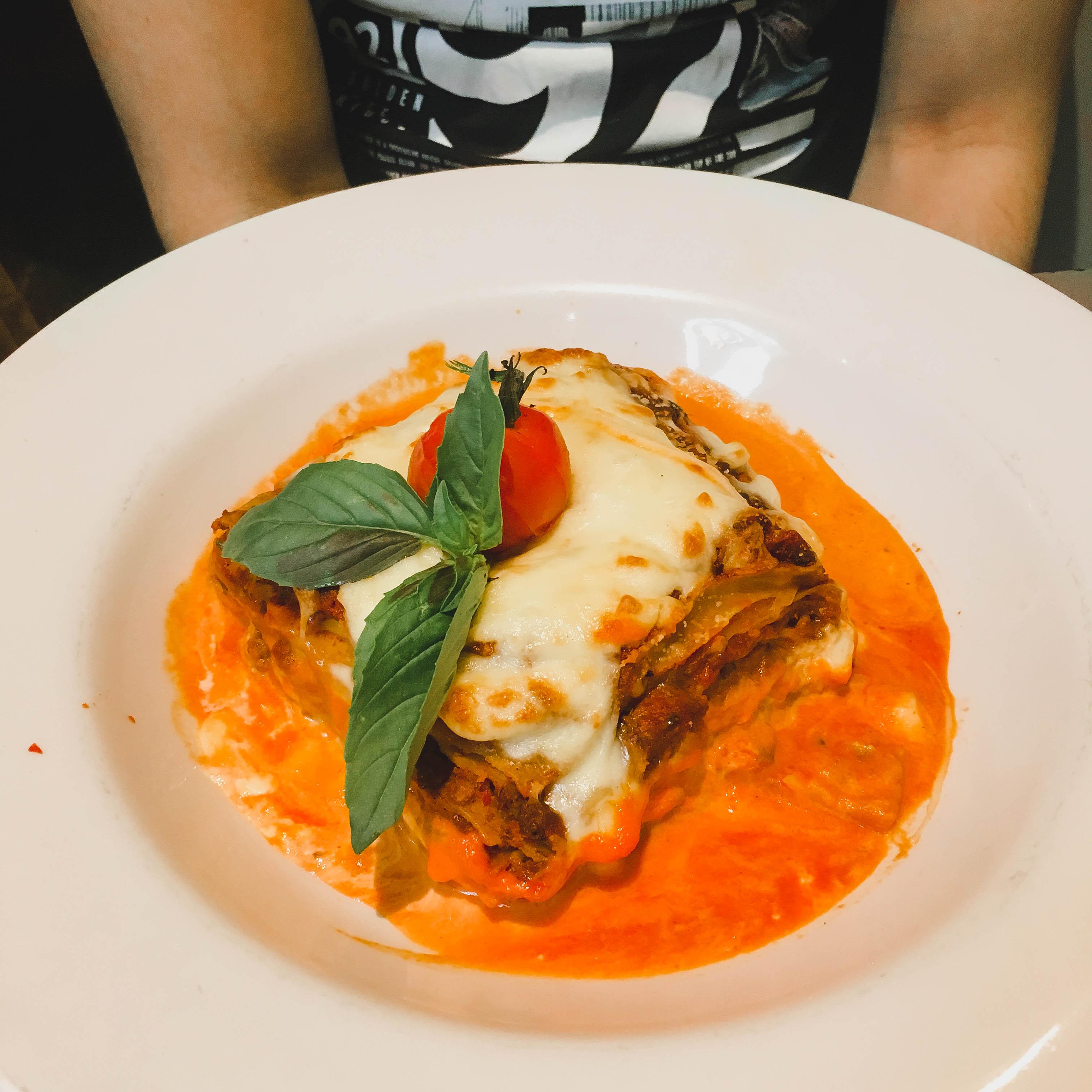 pulcinella cleveleys lasagne