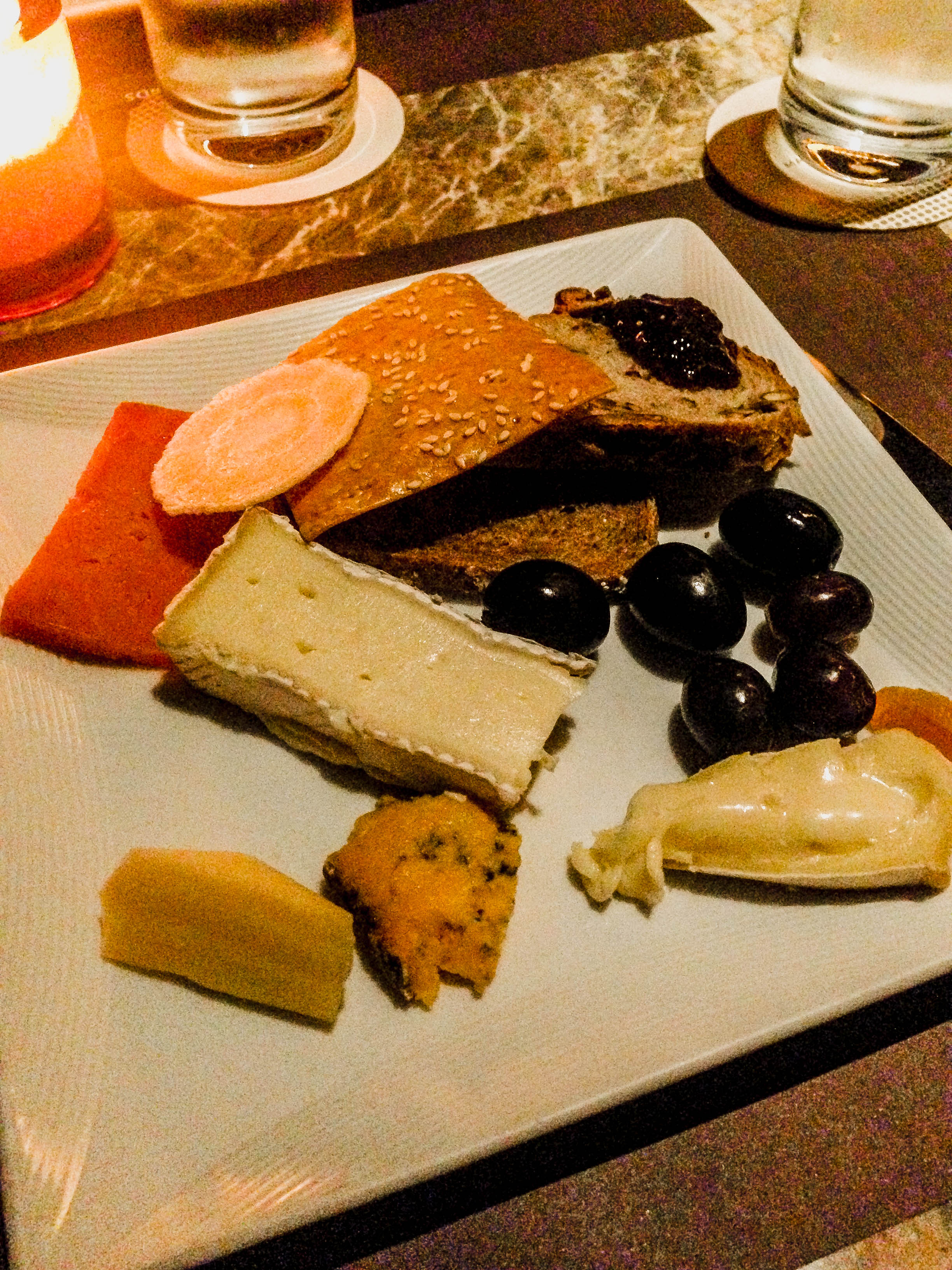 Club 55 - Marina Bay Sands - Cheese Plate