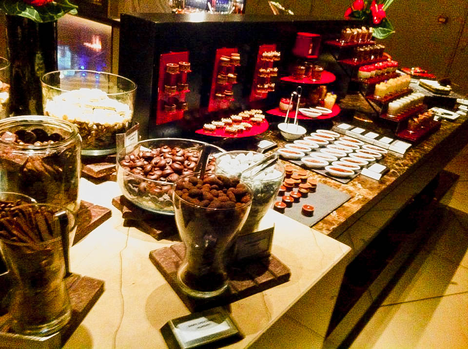 Club 55 - Marina Bay Sands - Chocolate Display