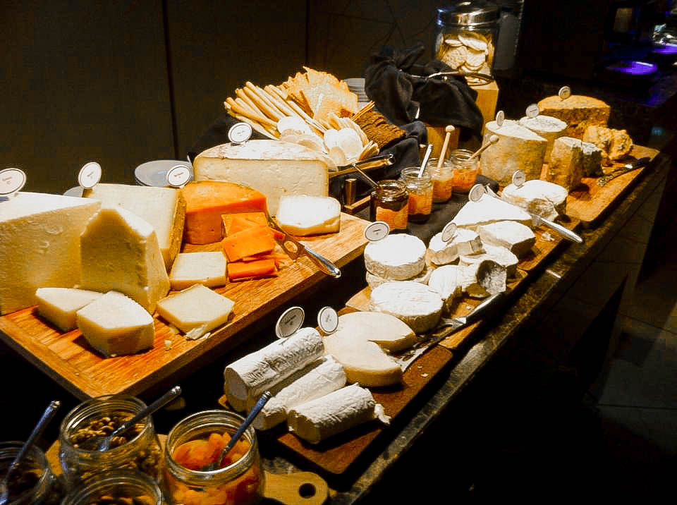Club 55 - Marina Bay Sands - Cheese Display