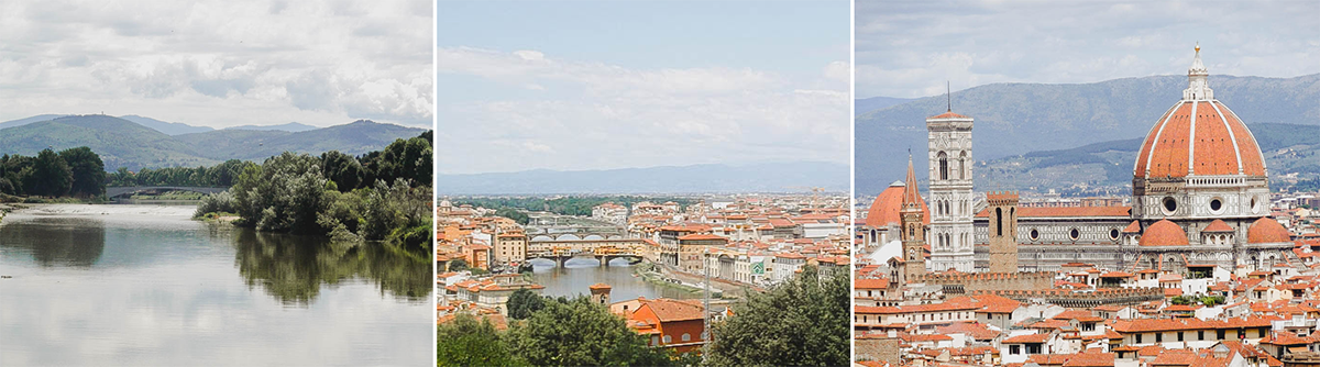 Florence Italy | view from Piazzale Michelangelo