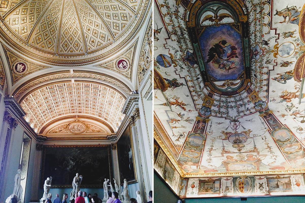 Florence Italy | Uffizi Interior