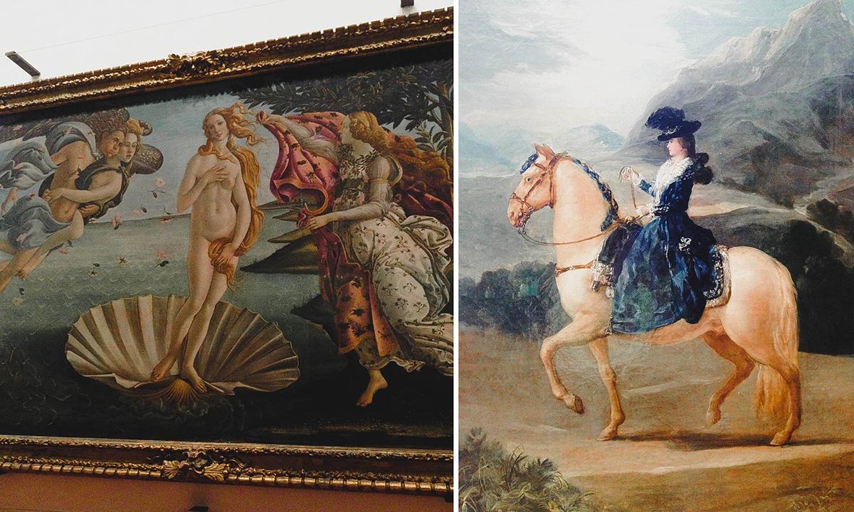 Florence Italy | Uffizi Gallery Botticelli