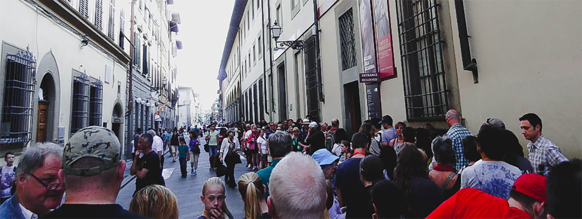 Florence Italy | queue for david