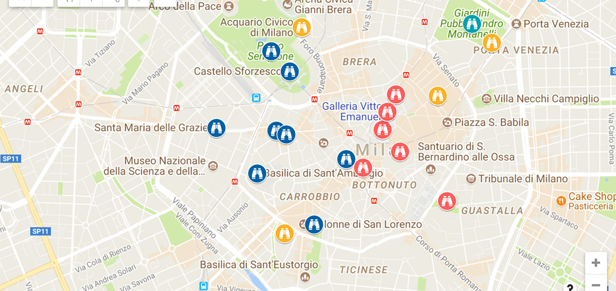 italian adventure milan map