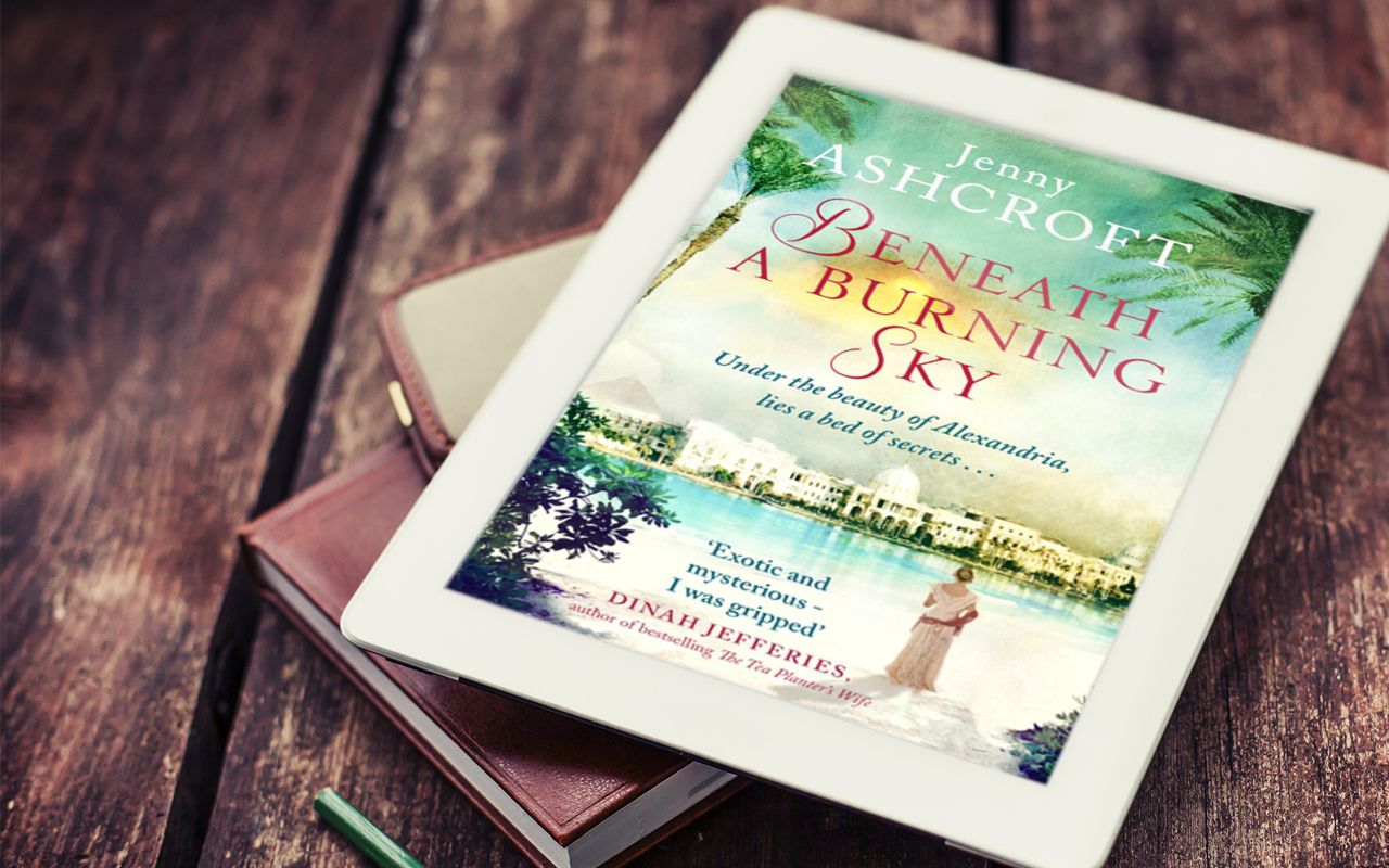 Beneath a burning sky by jenny ashcroft book cook