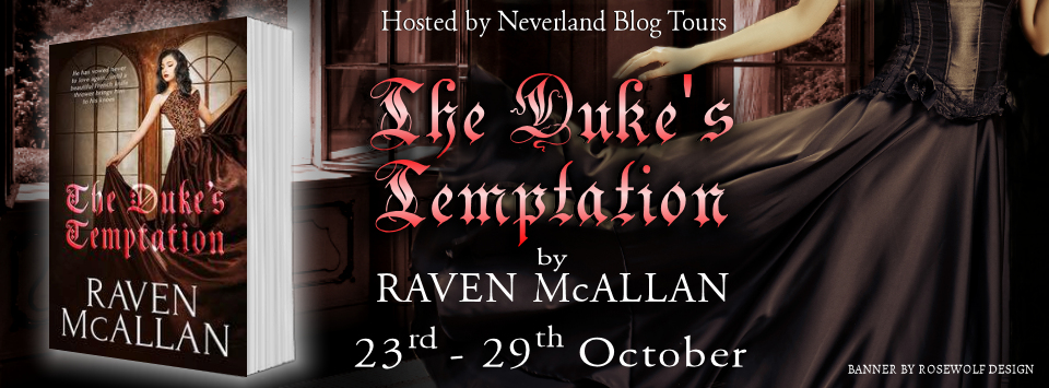 The Duke's Temptation book tour banner