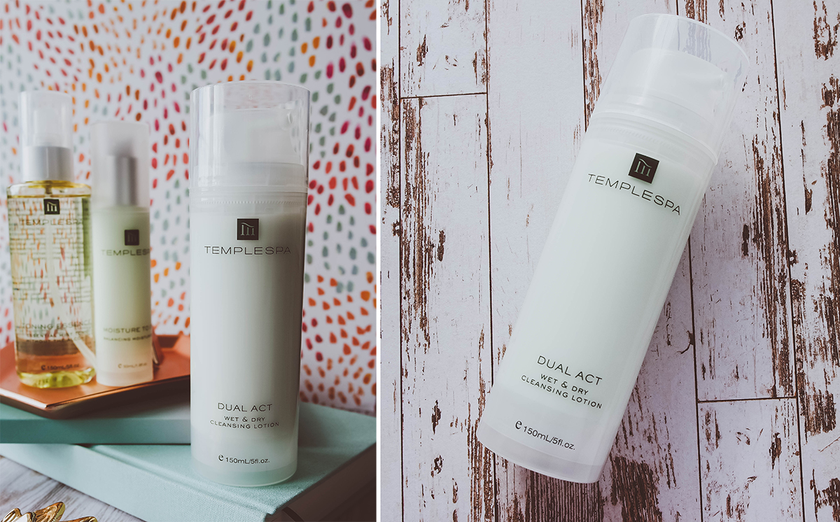 Temple Spa Dual Act Cleanser