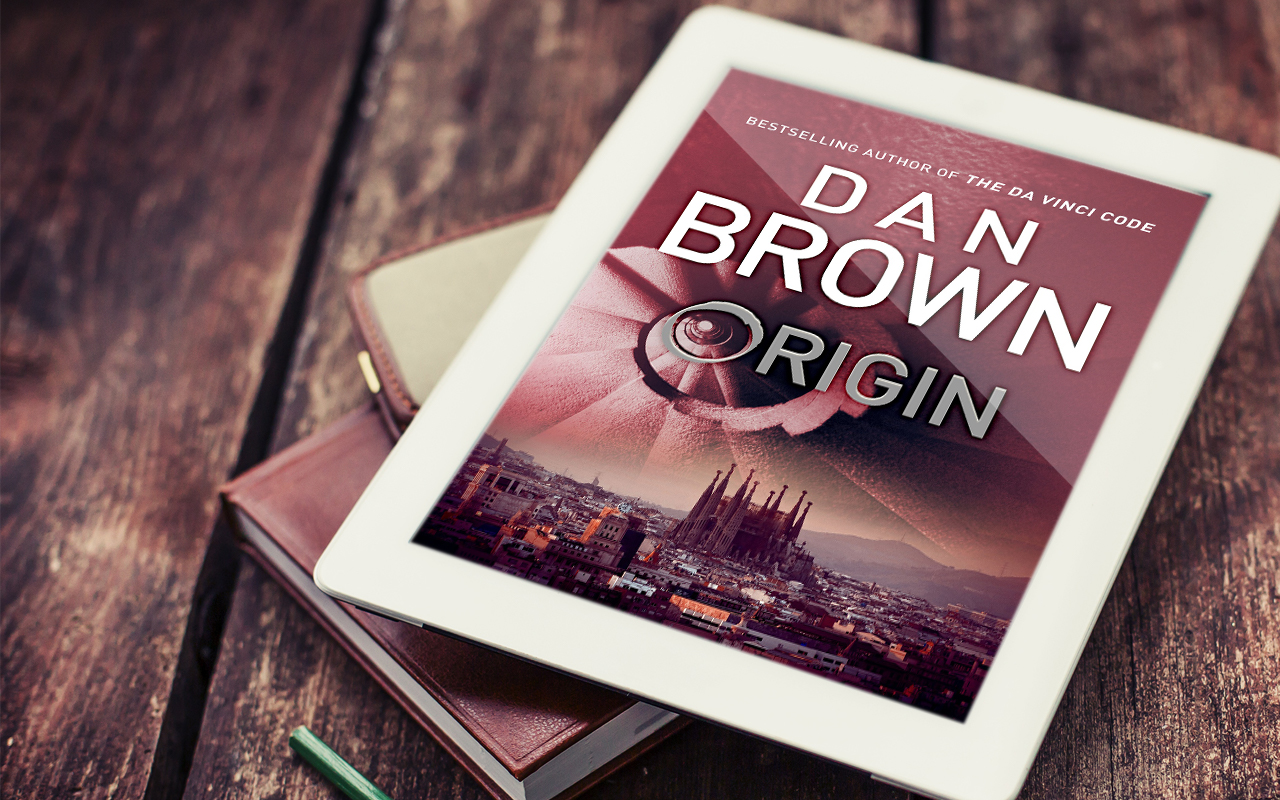 origin by dan brown cover