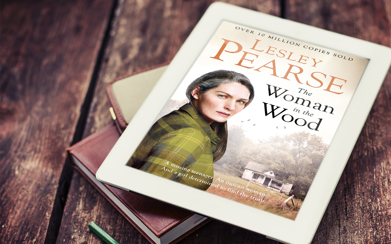 The Woman in the Wood by Lesley Pearse Book Cover