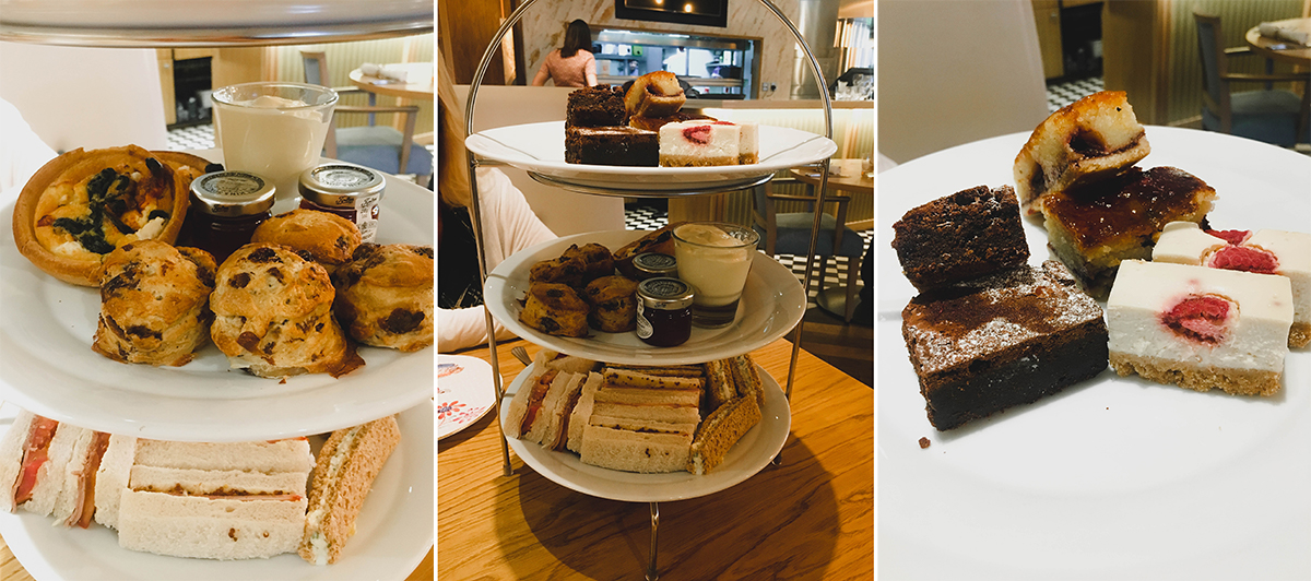 Milano's Wesham afternoon tea
