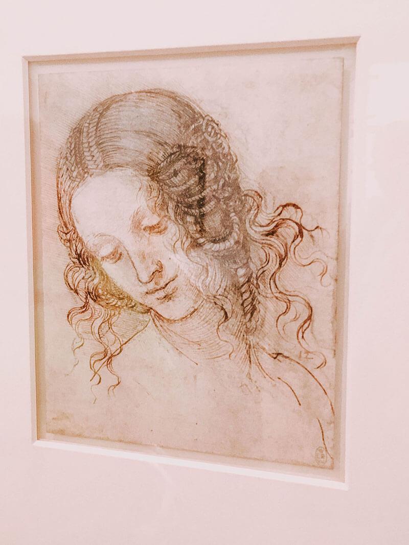 Da Vinci exhibit at Liverpool's walker art gallery