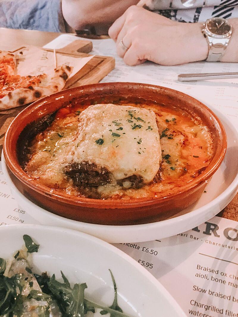 Lasagne at bacaro liverpool