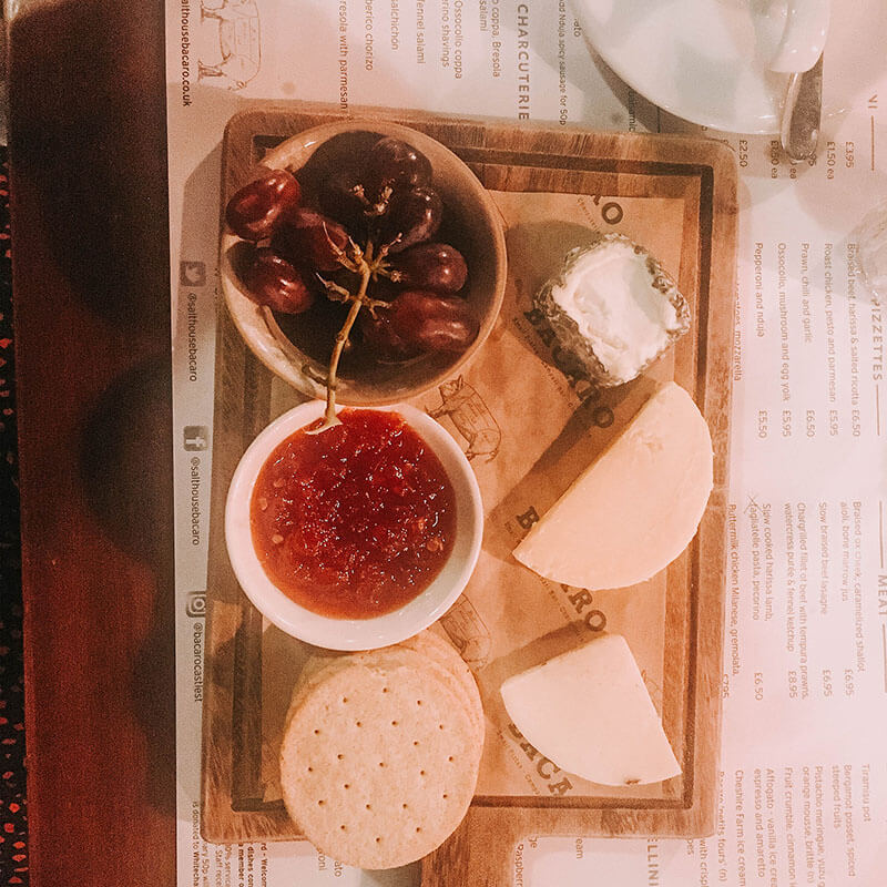 Cheeseboard at bacaro liverpoolool-21