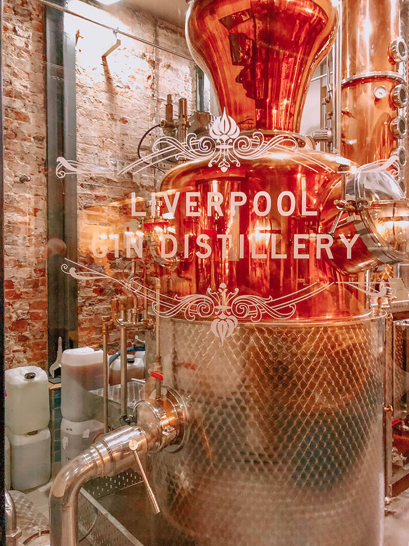 Gin Making in Liverpool Gin Distillery
