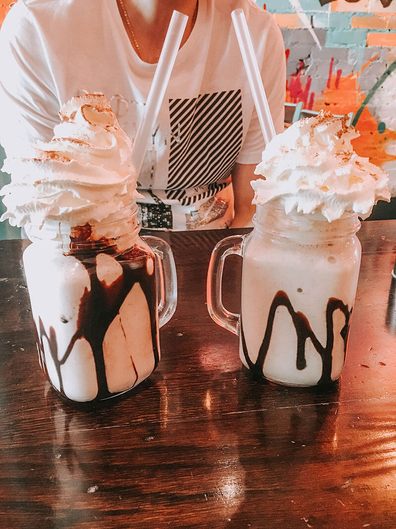 Milkshakes at Koop Liverpool