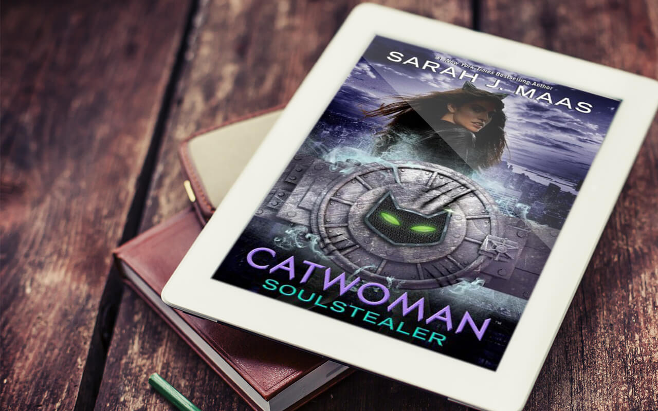 Catwoman soulstealer by sarah j maas book cover