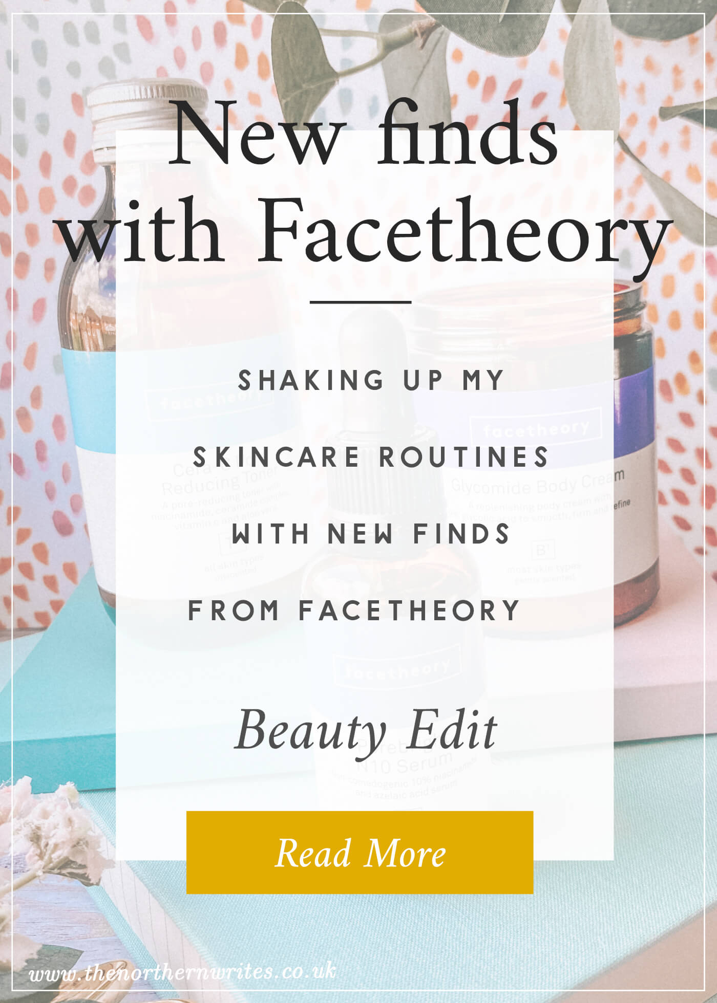 new finds with facetheory skincare review