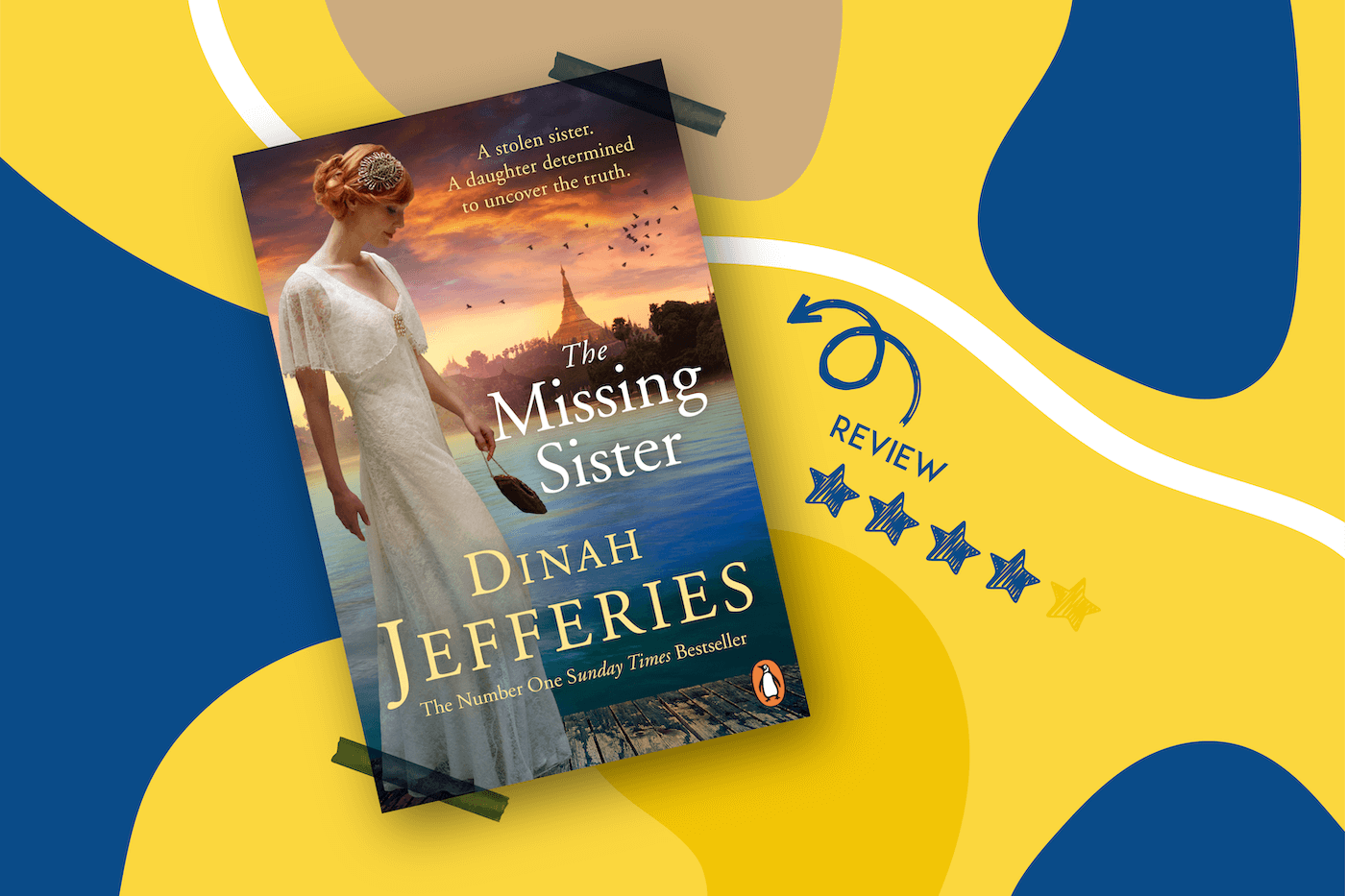 the missing sister by dinah jefferies book cover
