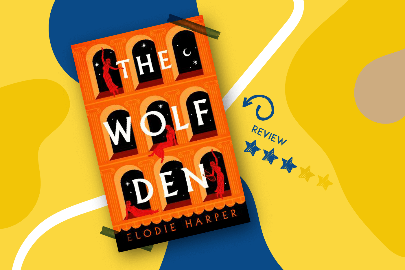 The Wolf Den by Elodie Harper Book Review